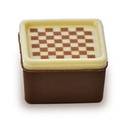 Holy Chocolate Chessboard checker Gourmet Swiss milk Chocolate Truffle