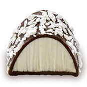 Holy Chocolate Coconut Gourmet Dark Chocolate Truffle