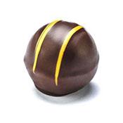 Holy Chocolate Gourmet Dark lemon Truffle